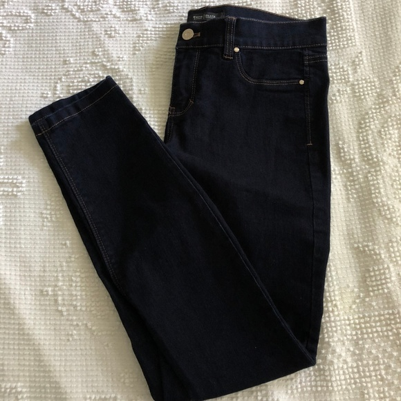 White House Black Market Denim - WHBM Mid Rise Skinny Ankle Jeans